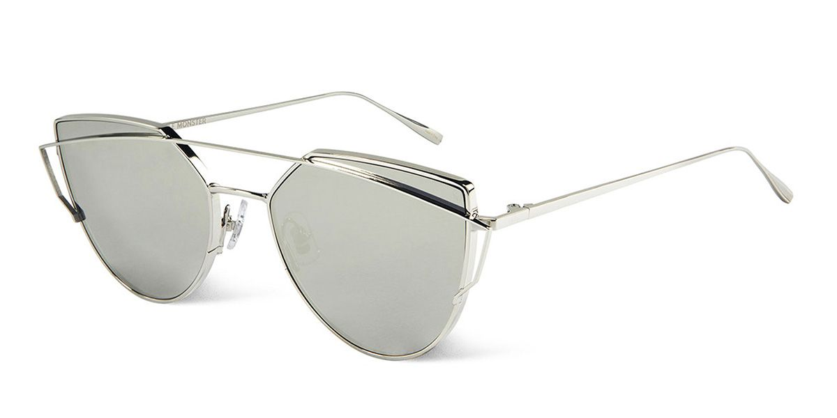 bb3e87ae69003 Gentle Monster LOVE PUNCH 02(1M) Silver Sunglasses