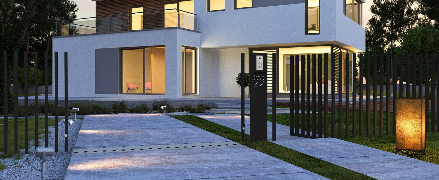 Beleuchtung für die unterputzmontage im esszimmer wohnungsbau  fancy fence  häuser  fence house und fancy