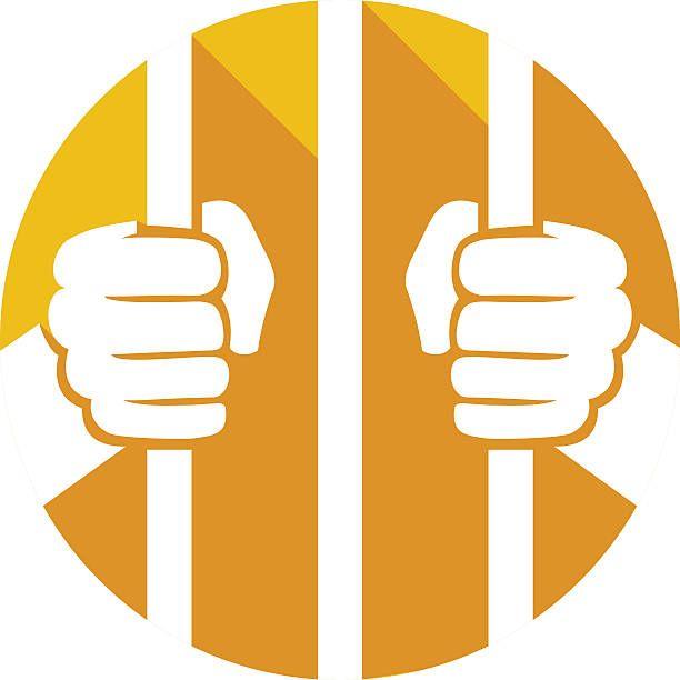 Imprisoned Clip Art Prison Cell Clip Art Vector Images Illustrations Istock Prison Art Prison Cell Jail