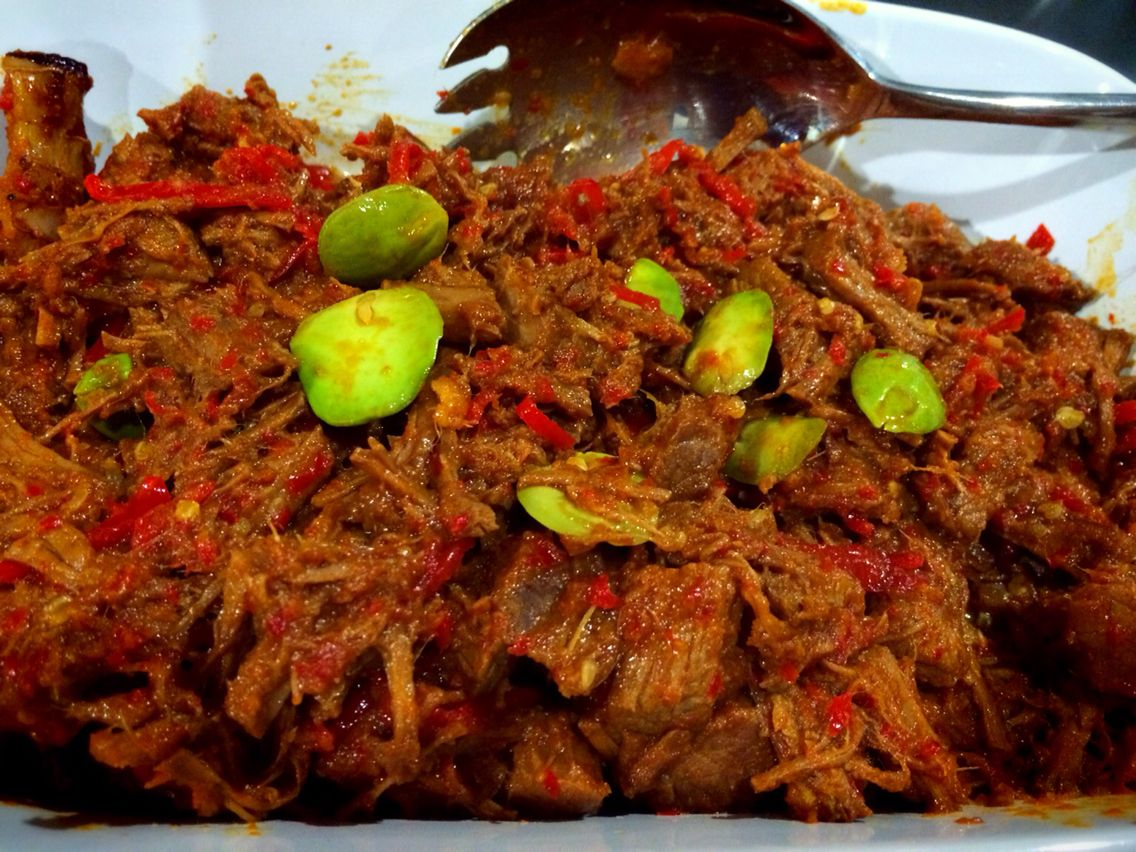 Dinner Menu Sambel Goreng Cirebon Or Sambel Goreng Daging With Pete Comes From Cirebon With Mom S Recipe Masakan Resep