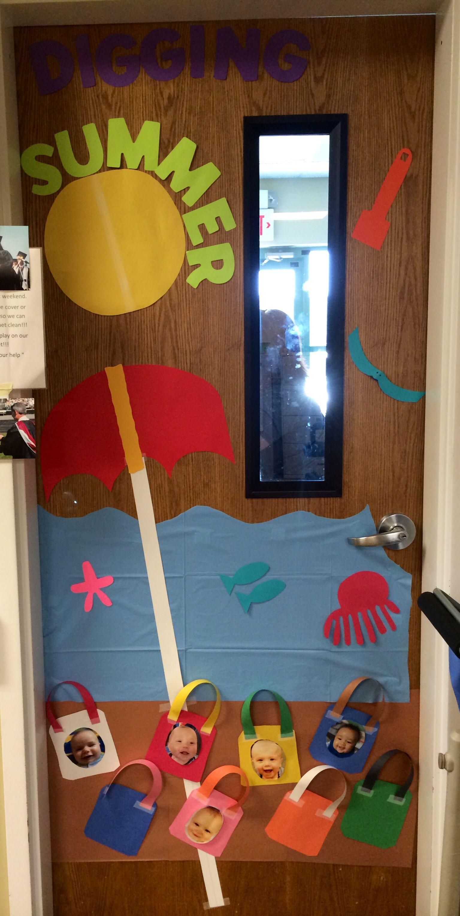 Summer Infant Room Door Display Daycare Crafts Door Decorations Classroom Classroom Decorations