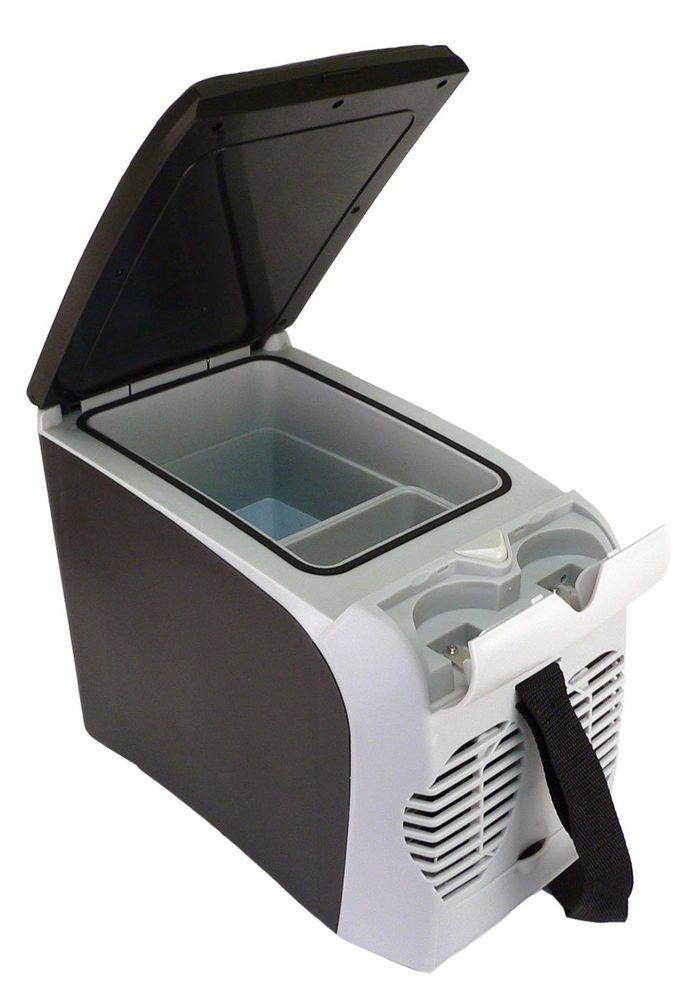 Mini Thermo Electric Fridge Warmer Portable Cooler Refrigerator Car Boat 6 Lit
