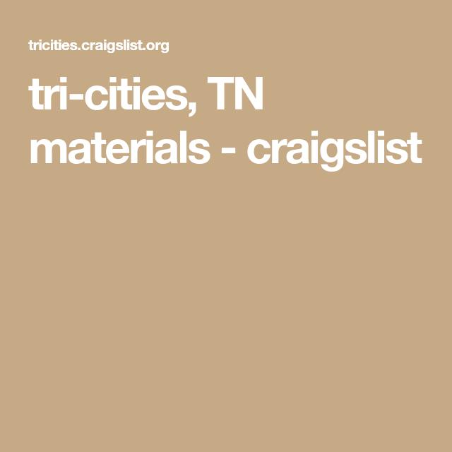 tri-cities, TN materials - craigslist | Tri cities, Metal ...