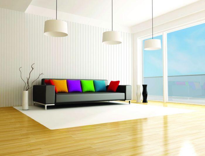 Kreative Wandgestaltung Holzverkleidung Innen Deko Ideen Platten    Gemutliche Holzverkleidung Innen