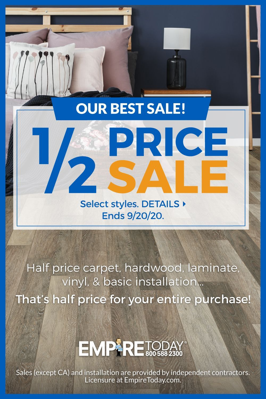 1 2 Price Sale Hardwood Vinyl Plank Laminate Carpet Shop For Floors Without Leaving Th In 2020 Vinyl Plank Kitchen Inspiration Design Kitchen And Bath Remodeling