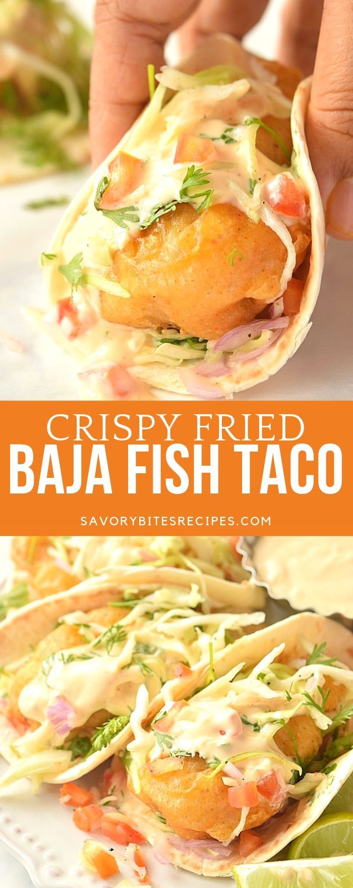 Best Baja Fish Taco! #mexicanshrimprecipes