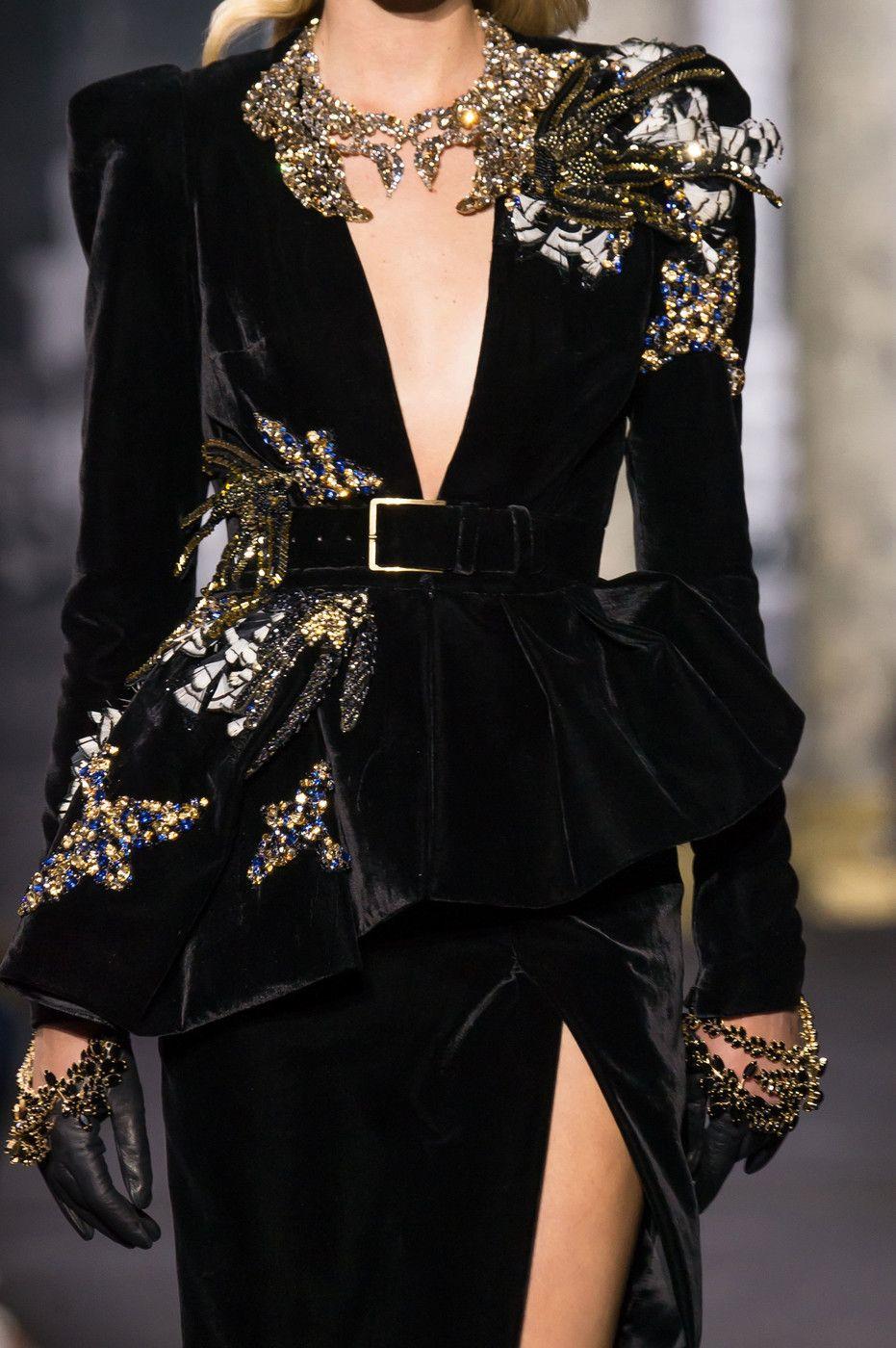 Elie Saab at Couture Fall 2016 | Abendkleider, Couture Kleider und ...