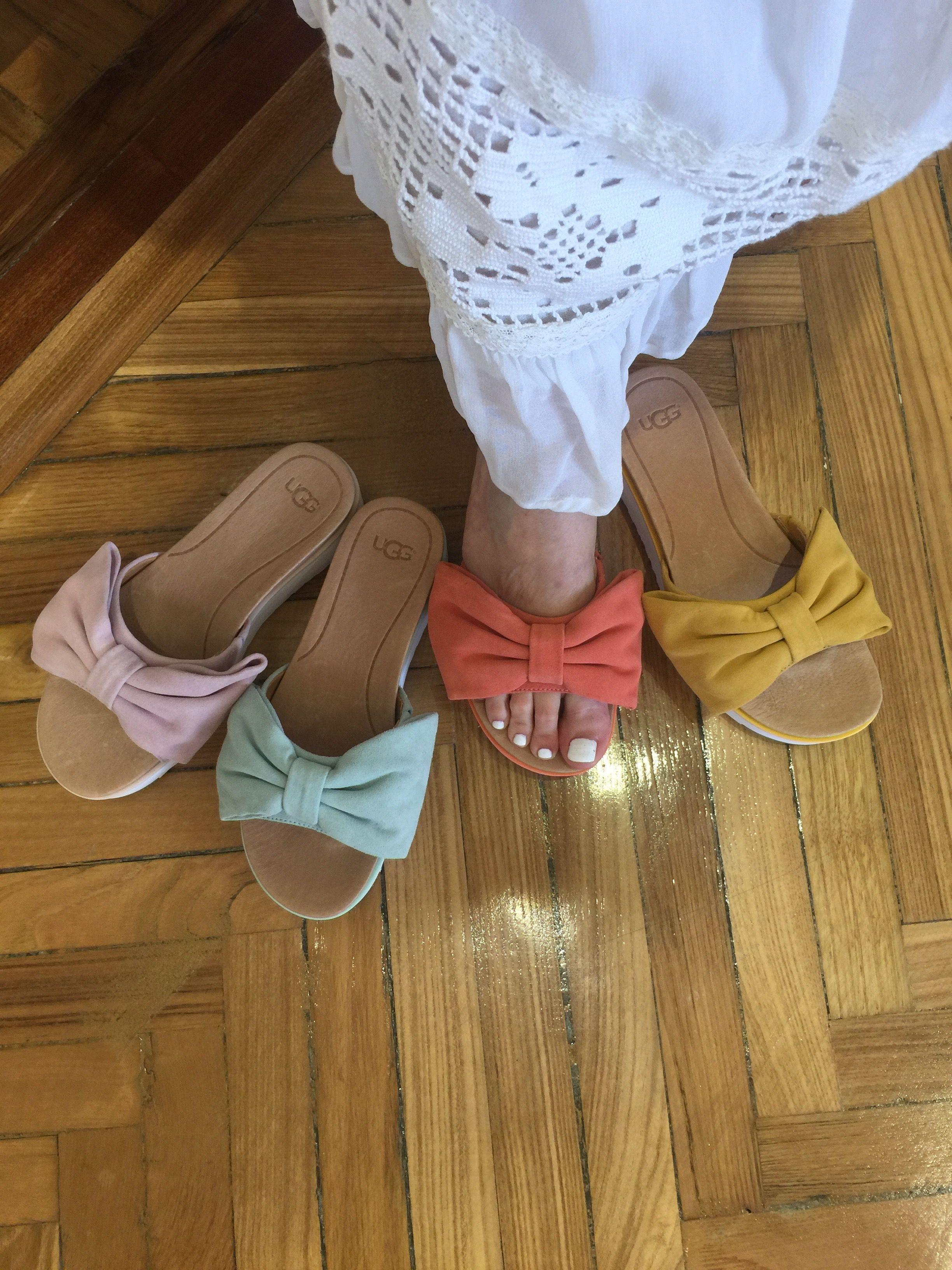 58005c89 Sandalias con plataforma tipo pala con adorno de lazo. Elige entre varios  colores y disfrútalas todo el verano. ¡Son ideales! #carrile  #calzadoscarrile # ...
