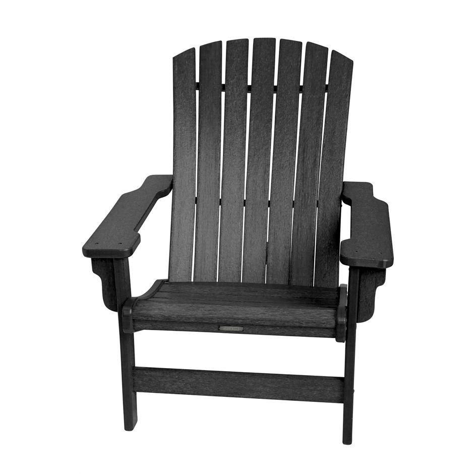 Genial Fanback Chair, Zwart