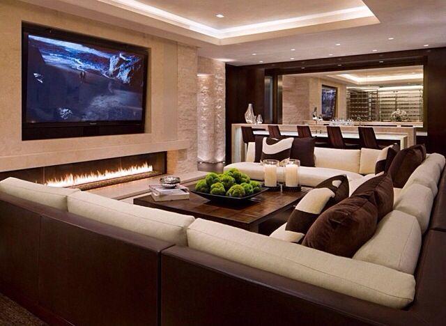 15 Adorable Contemporary Family Rooms Diseno De Habitacion De La