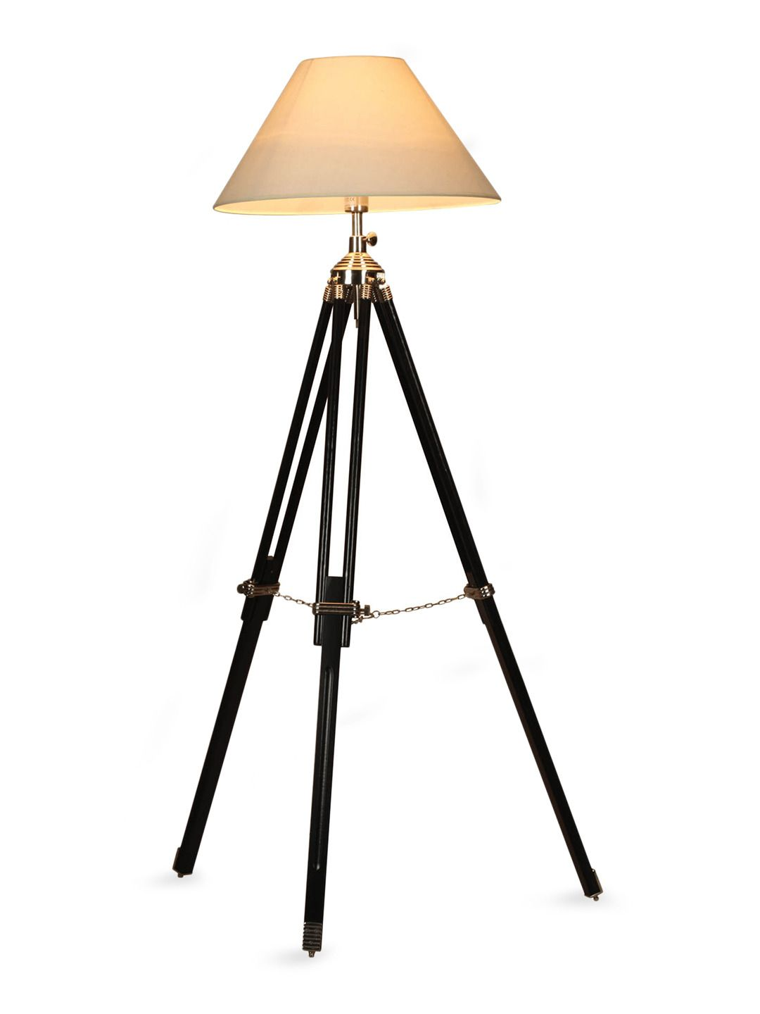 Navy tripod floor lamp navy tripod floor lamp by 100essentials at gilt aloadofball Image collections