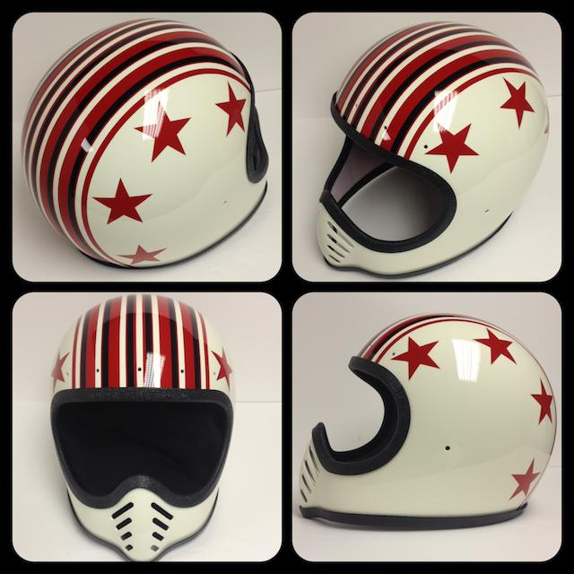 Chemical Candy Customs Refurbished Helmets Vintage Helmet Helmet Design Custom Bike Helmets