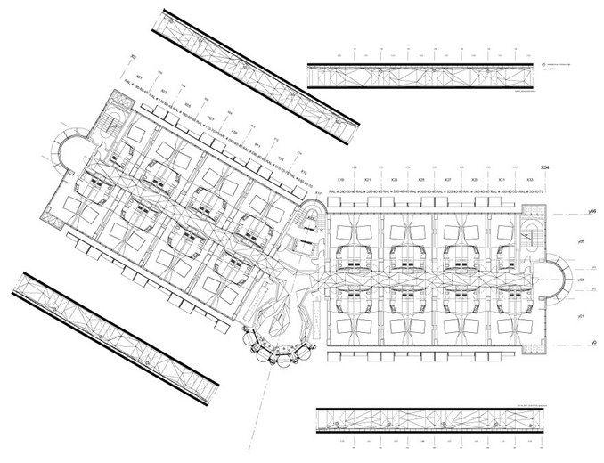 Plasma studio hotel puerta america general floor plan for Hotel silken puerta america plantas