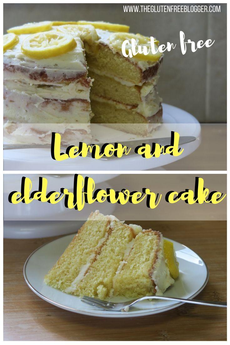 Gluten free lemon and elderflower cake recipe gluten