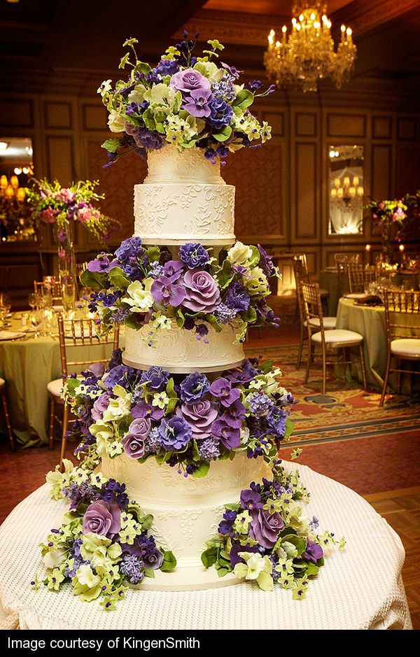 Breathtaking Wedding Cake by the amazing Sylvia Weinstock!  This cake had its own seat on the plane from New York to Chicago!!