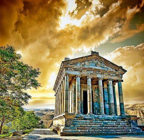 Garni temple, 1st century bc