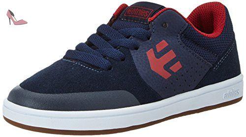 Etnies Jameson 2 ECO, Chaussures de Skateboard Homme - Bleu - Blau (NAVY/BROWN/WHITE/480) - 44 EU