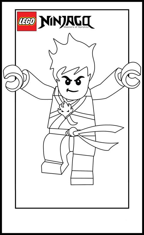 lego coloring pages | Lego Ninja Go Coloring Pages 5 - Free ...