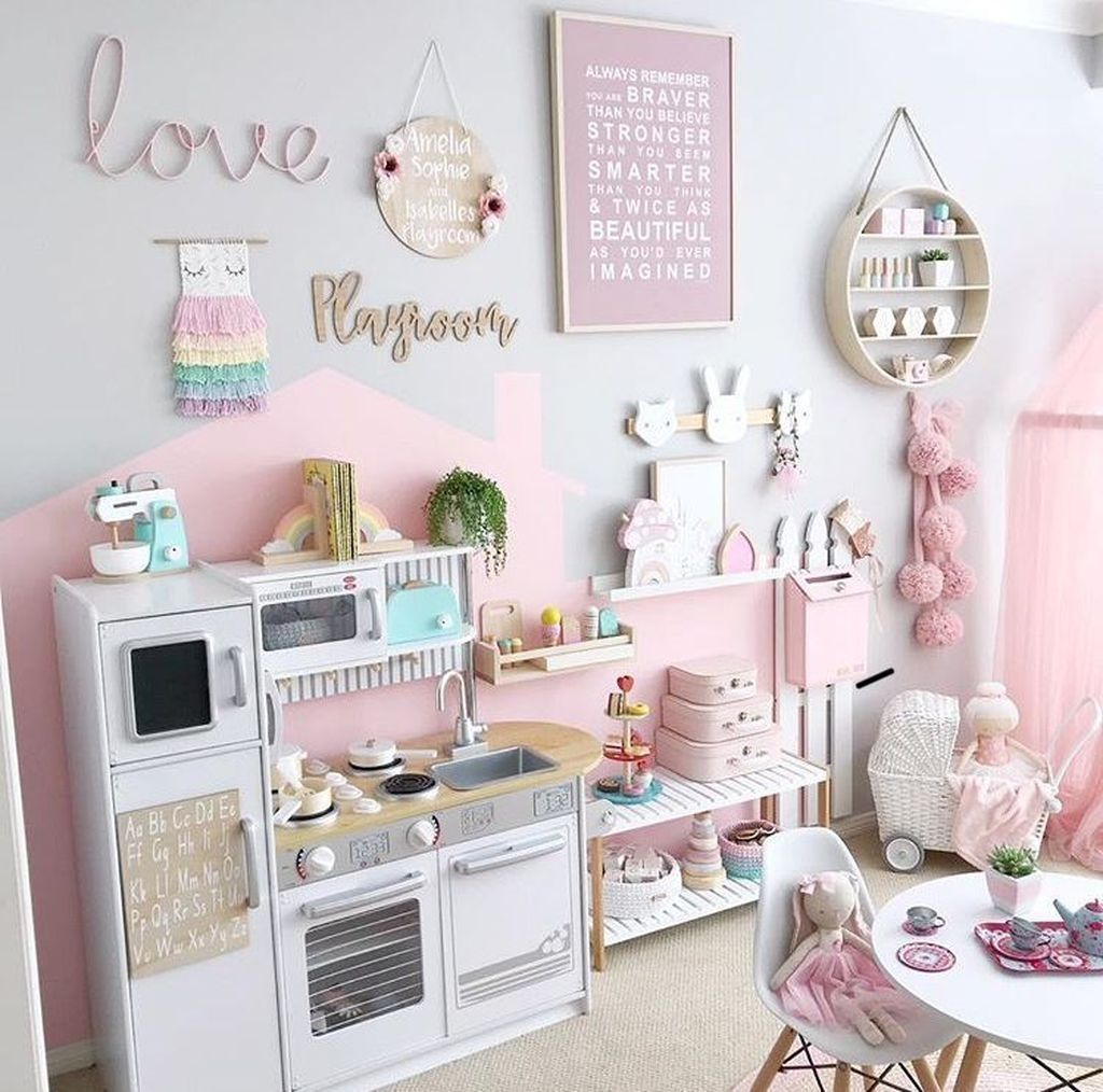 49 Splendid Diy Playroom Kids Decorating Ideas images