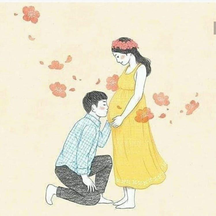 Buat Yg Sedang Dalam Program Memiliki Momongan Anak Pertama Ataupun Anak Kedua Secepatnya Sehat Ataupun Memili Sevimli Cizimler Bebek Illustrasyon Canim Kizim