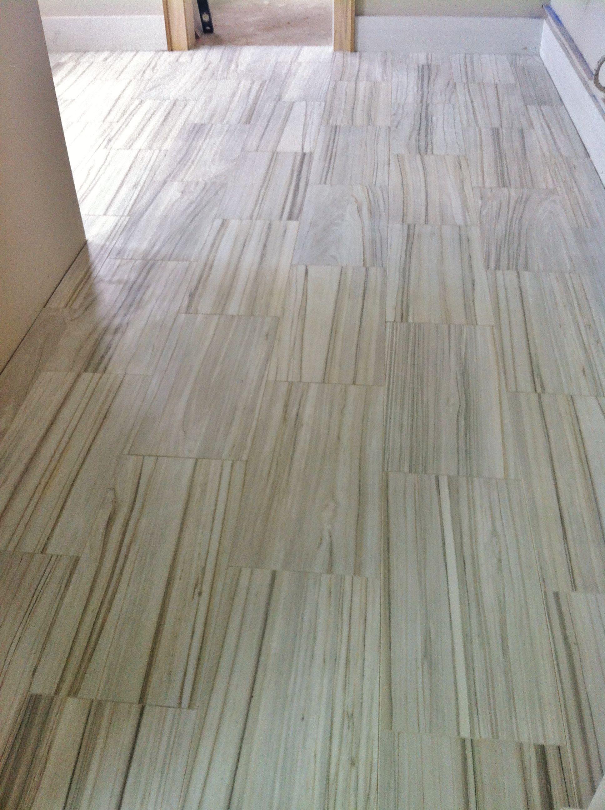 12x24 striated porcelain tile on bathroom floor someone did this 12x24 striated porcelain tile on bathroom floor someone did this lovely floor dailygadgetfo Images