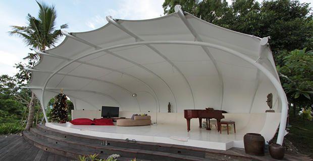 Toldos Y Estructuras Para Sombra Serge Ferrari Tensile Structures Roof Architecture Shade Structure