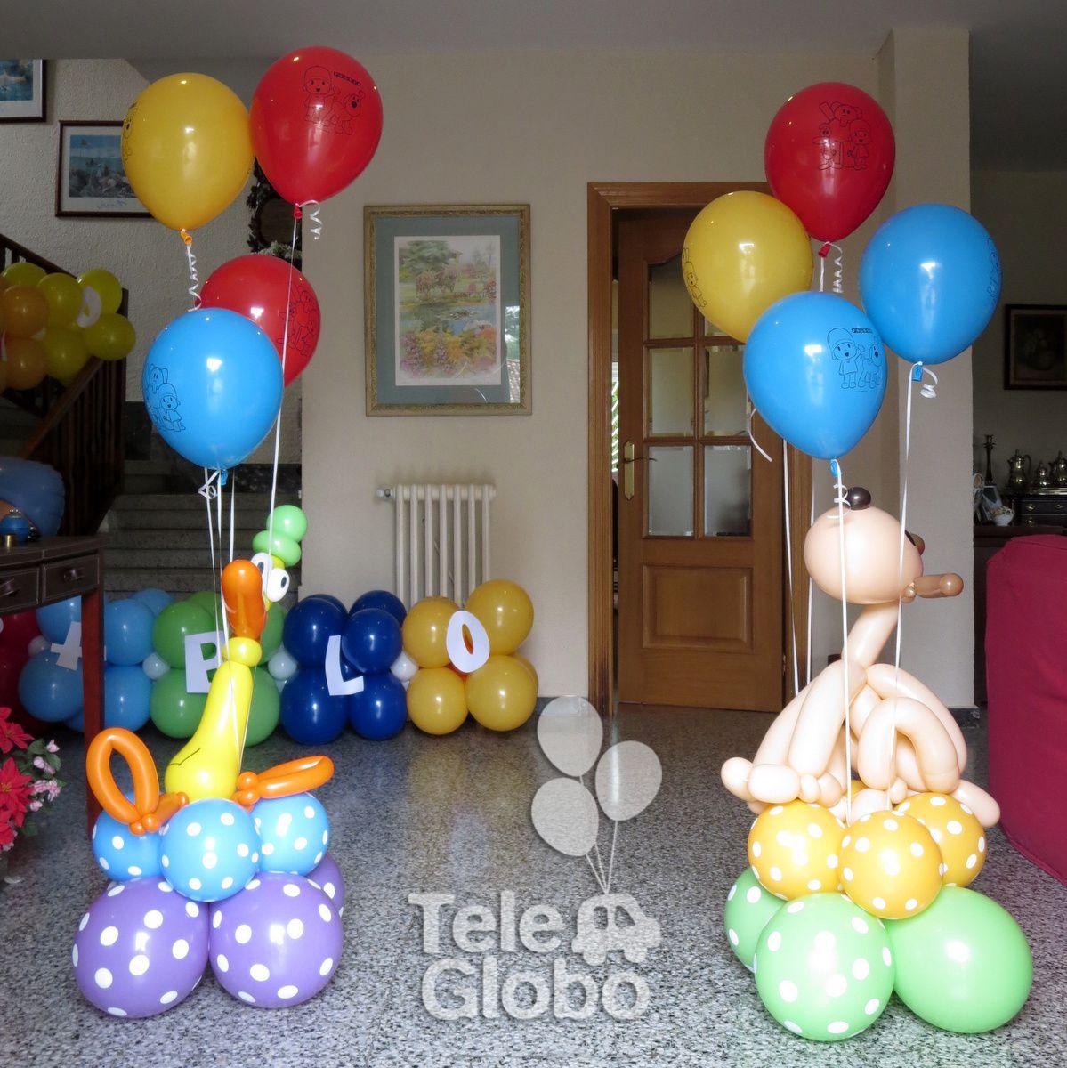 Loula y pato de pocoy para una decoraci n de cumplea os - Decoraciones para cumpleanos infantiles ...