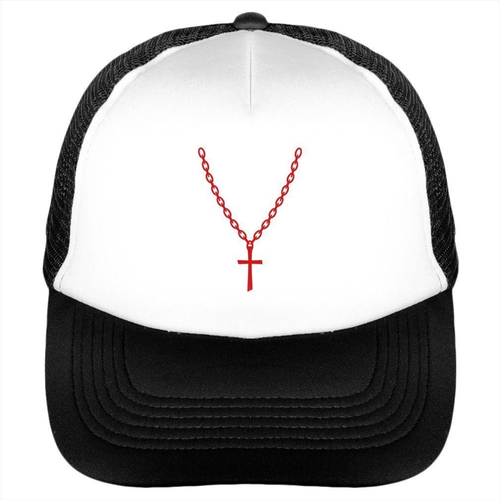 Cross Gold Chain hat