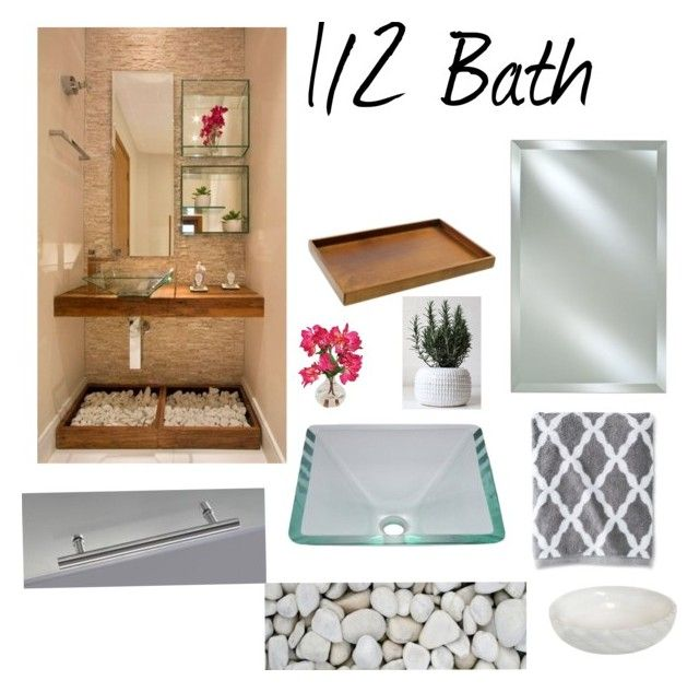 12 bath by on polyvore featuring interior interiors design