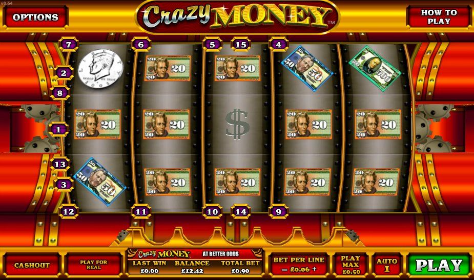 Slot machine games for cash gambling strategy