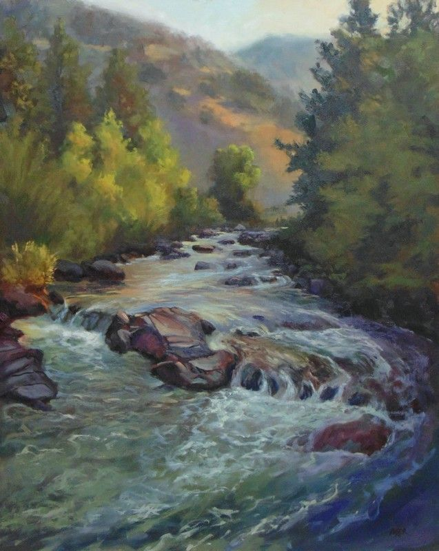 Sunrise At Shell Creek by Todd Derr Oil ~ 30 x 24