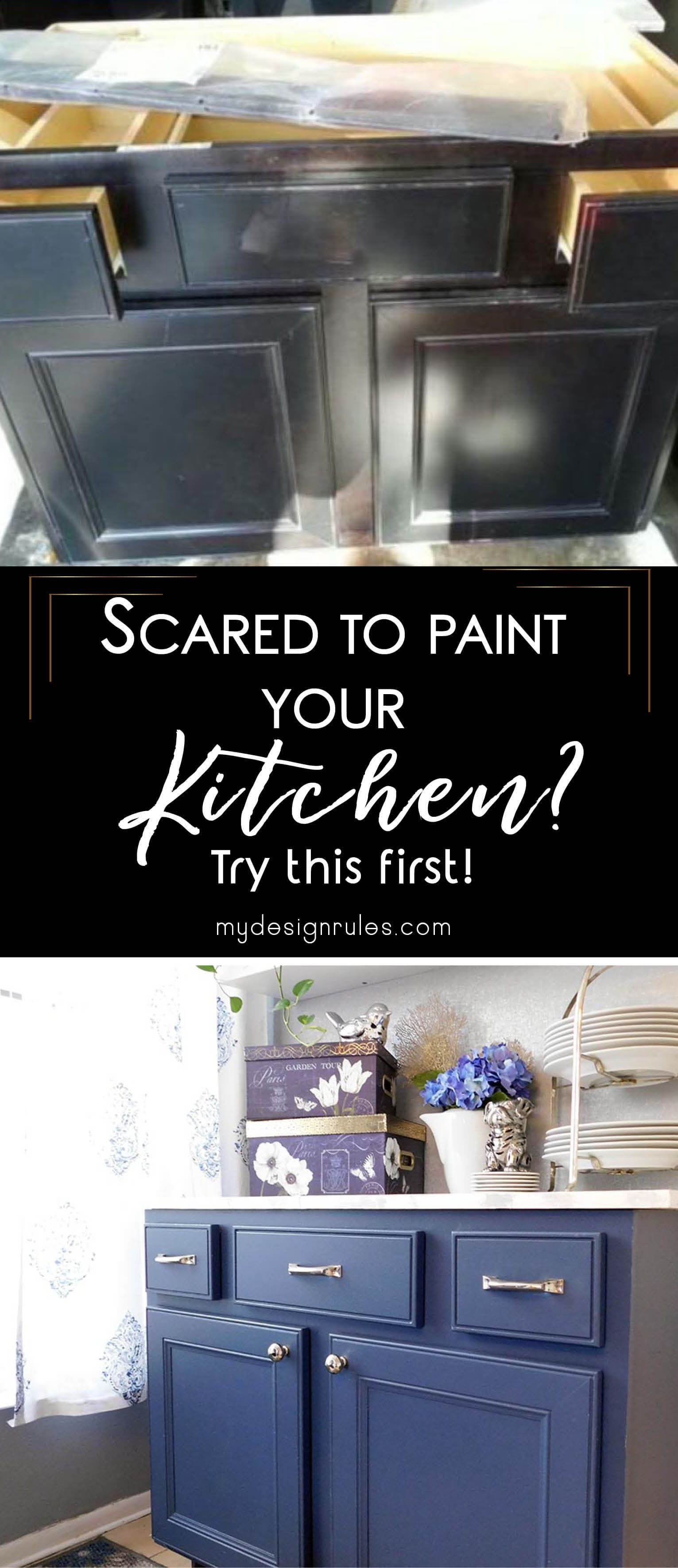 Upcycle a Sink into a Buffet   Painting kitchen cabinets ...