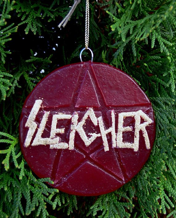 Handmade wax heavy metal holiday ornament (With images ...