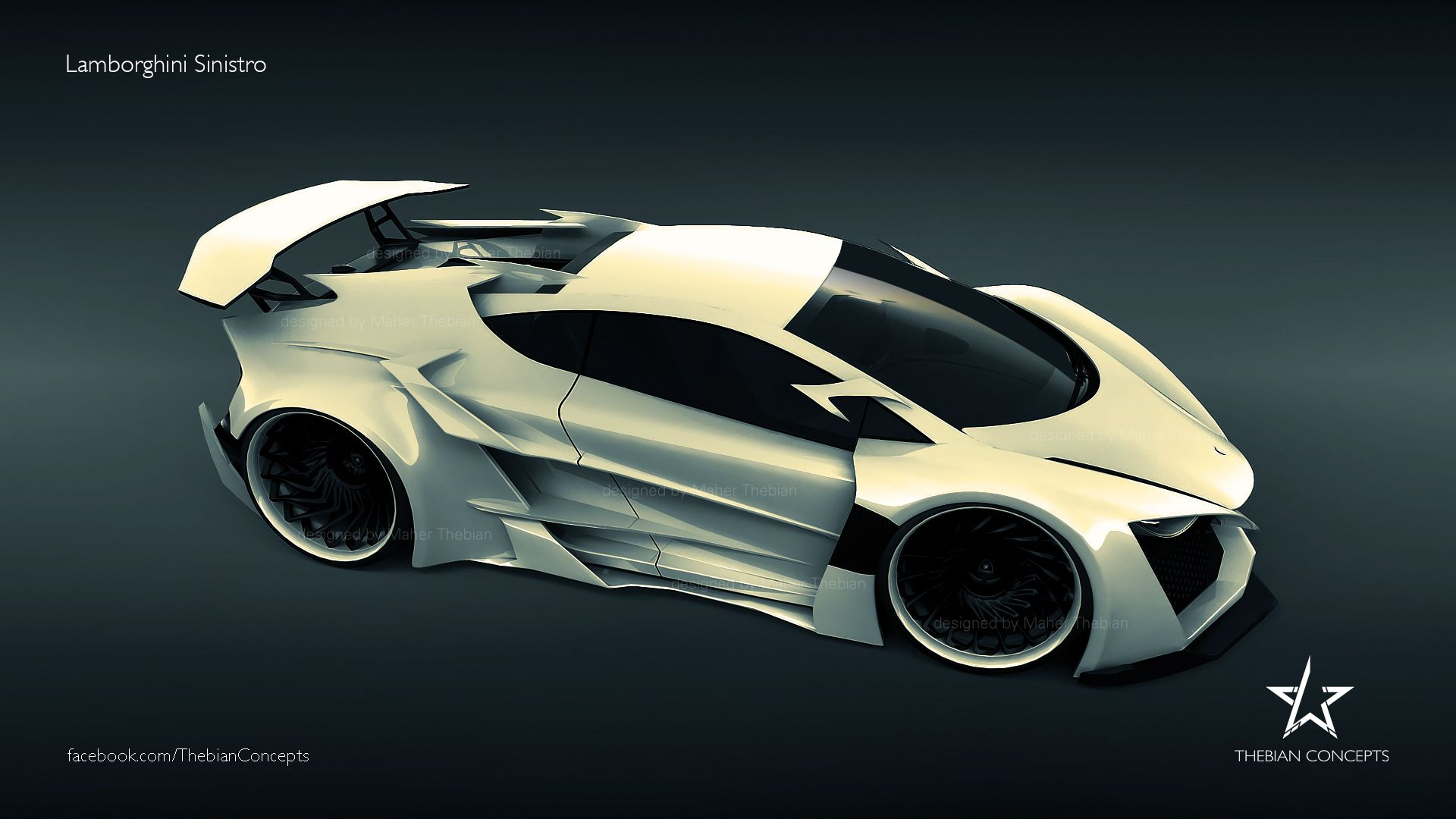Merveilleux Vehicles   Lamborghini Sinistro   Maher Thebian   Sinistro   Lamborghini  Concept   Thebian Concepts Wallpaper