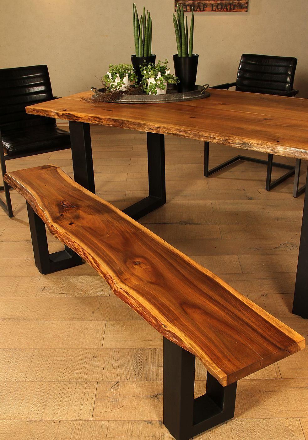Sitzbank Premium Collection By Home Affaire Queens Online Kaufen Otto Holztisch Design Wood Slab Table Akazienholz Mobel