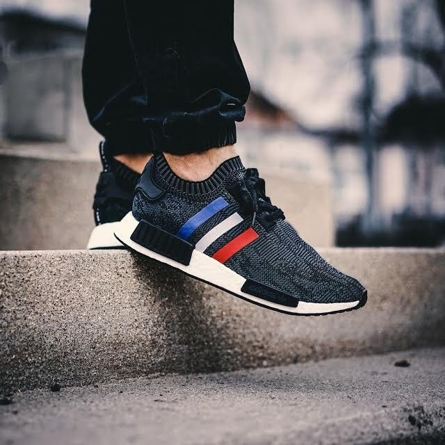 Adidas Nmd R1 Pk Tri Color Sneakers Fashion Sneakers Ankle