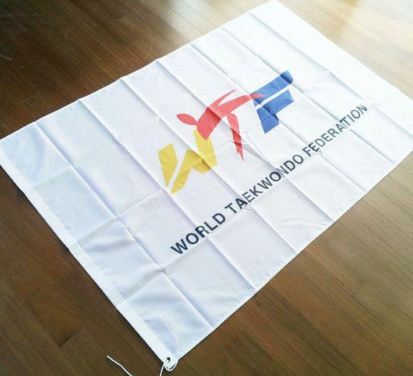 WTF Korea TaeKwonDo World TKD Federation BADGE Tae Kwon Do Gym Uniform Dobok Bag