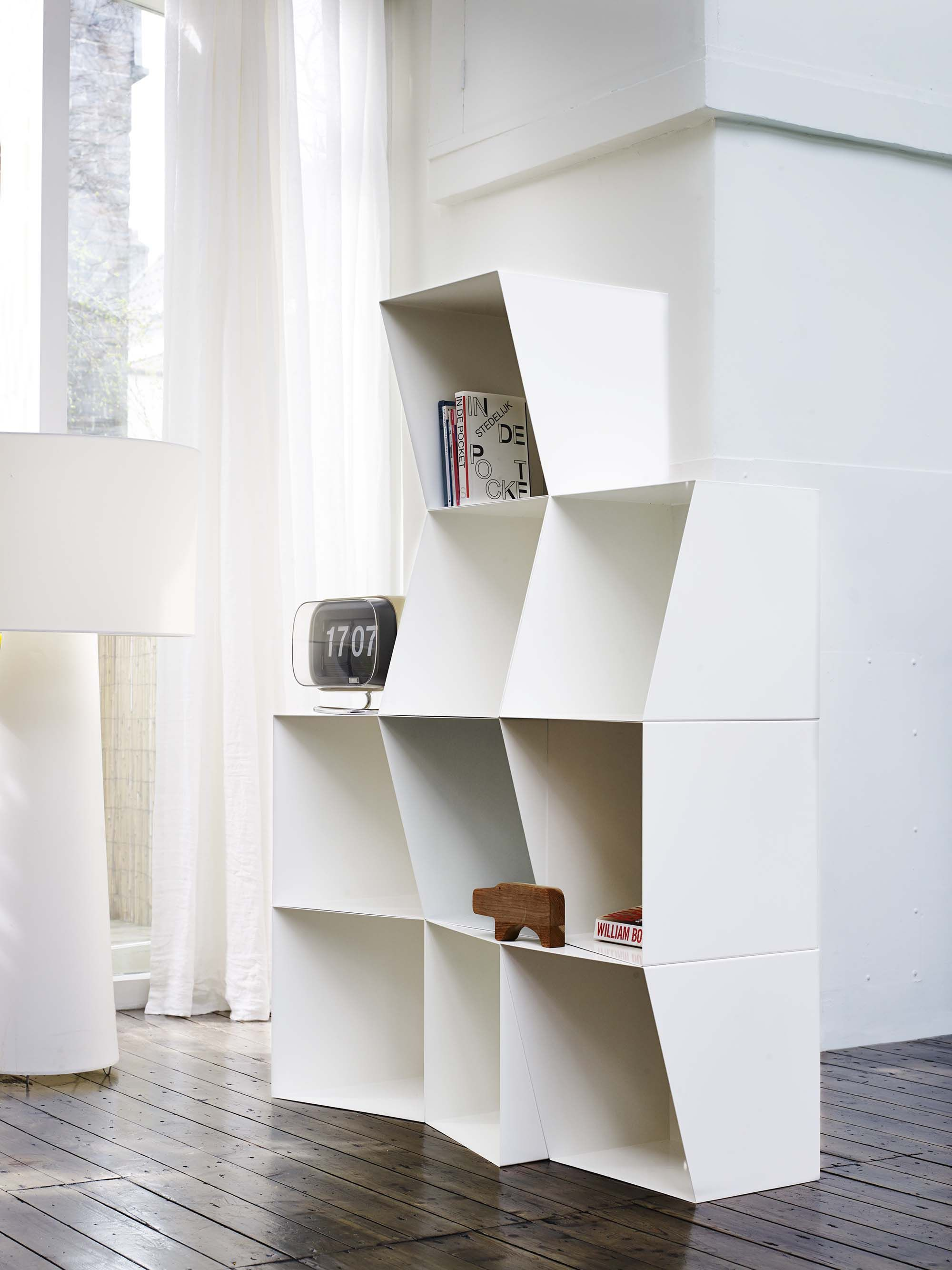 Totem Angular Bookcase Cubes Are Made For Displaying Your Life Full Of Treasures Nicolette De