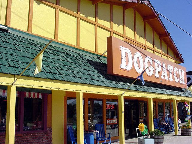 https://flic.kr/p/PTs4E | Dogpatch Village | Dogpatch started as the Dogpatch Cafe back in 1947 and has remained a fun Lake of the Ozarks destination for tourists.    I snapped all of these photos back in 2004.
