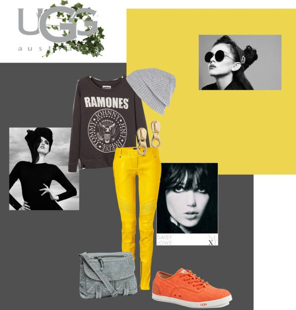 """""""Leather"""" by aussieom ❤ liked on Polyvore"""