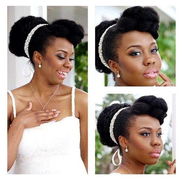 Nigerian Wedding Natural Hair Bridal Hairstyles Bm Pro Jpg 640 640 Natural Hair Wedding Natural Hair Bride Natural Hair Styles