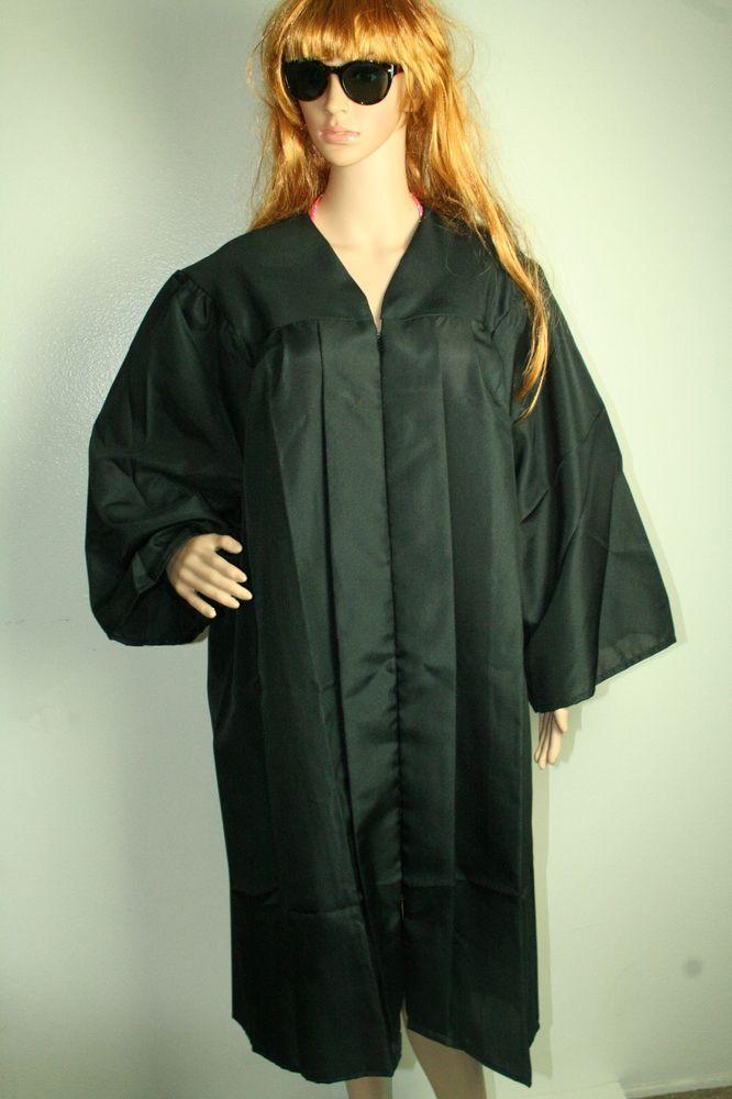 Jostens black graduation gown robe many sizes #Jostens #Gown ...