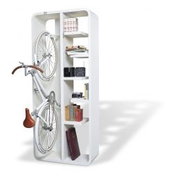 Bookbike by BYografia is a clever hybrid, addressing both your reading and riding needs.