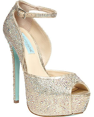 788cc71dd94 Betsy Johnson super bling heels. So perfect!!