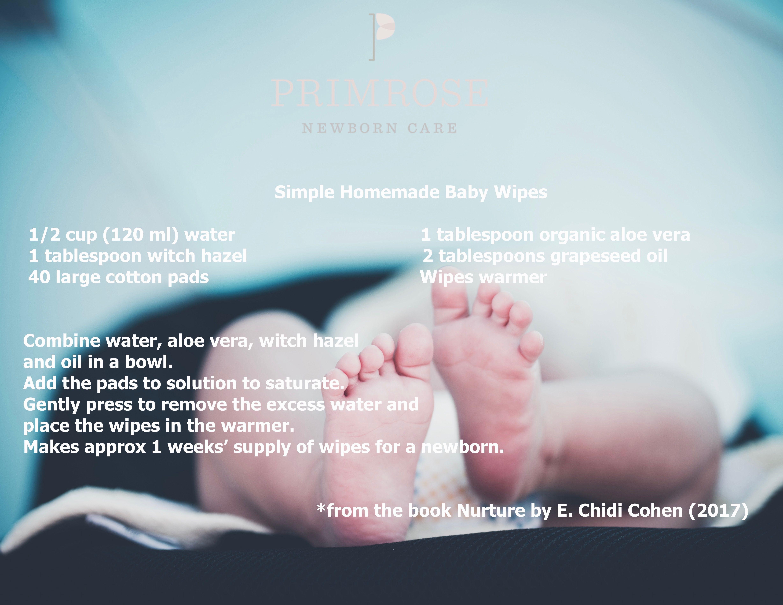 Homemade baby wipes for newborn. newborncare newbornbaby