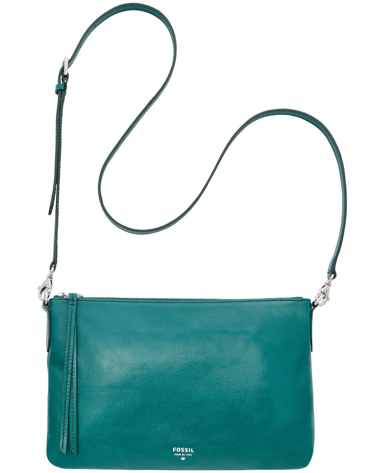 Fossil Sydney Leather Top Zip Crossbody Clearance Handbags Accessories Macy S