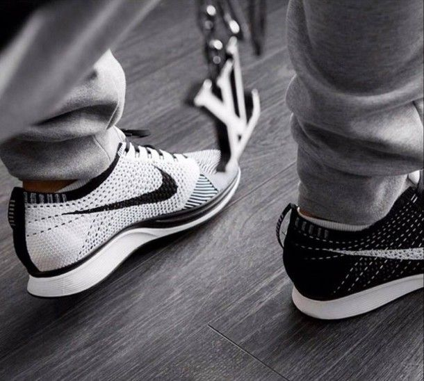 There is 0 tip to buy these shoes: black white nike flyknit racers nike  flyknit nike sportswear.