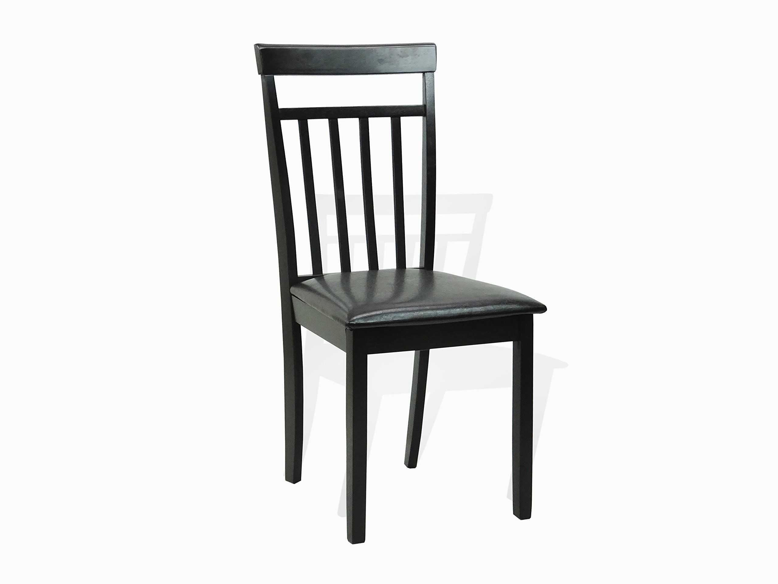 Dining Kitchen Set of 10 Square Table and 10 Classic Wood Chairs