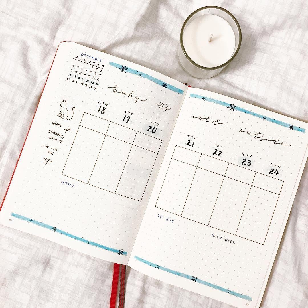 Image result for bullet journal layout
