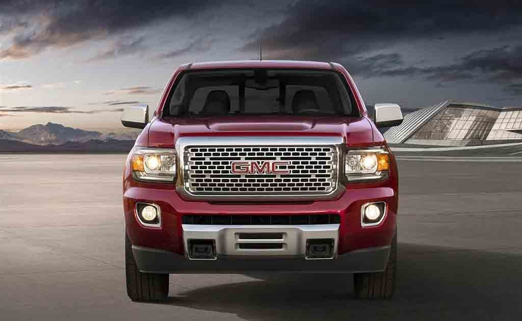 New 2019 Gmc Canyon Has A Peculiar Design Giving It An Offset